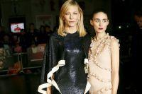 Кейт Бланшетт и Руни Мара на премьере драмы Кэрол