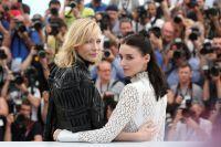 Кейт Бланшетт и Руни Мара на Каннском кинофестивале