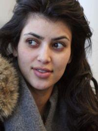 Ким Кардашьян без макияжа 6
