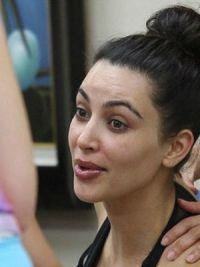 Ким Кардашьян без макияжа 8