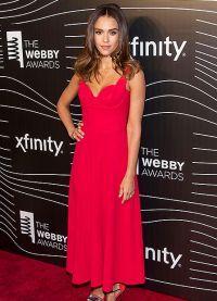 Jessica Alba la Premiile Webby Award