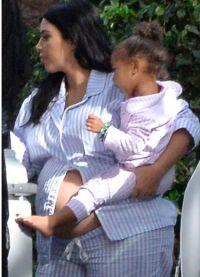 Kim și Nord a pus aceleași pijamale