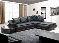 Кожаный угловой диван4