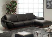 Кожаный угловой диван6