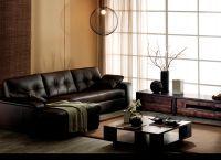 Кожаный угловой диван8