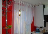 Красивые шторы на кухню1