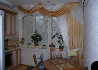 Красивые шторы на кухню4