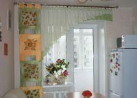Красивые шторы на кухню7