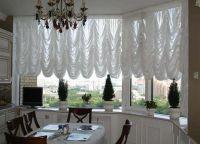 Красивые шторы на кухню8