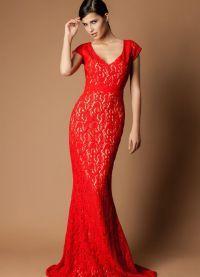 красивые вечерние платья в пол 2014 2