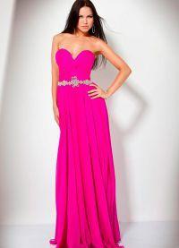 красивые вечерние платья в пол 2014 5