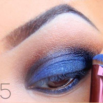 самый красивый макияж глаз 5