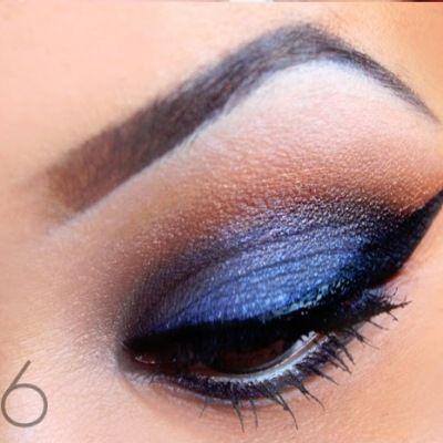 самый красивый макияж глаз 6