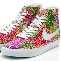 Кроссовки на платформе Nike 4
