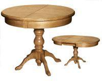 Круглый раздвижной стол для кухни4