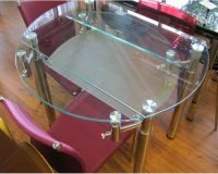 Круглый раздвижной стол для кухни7