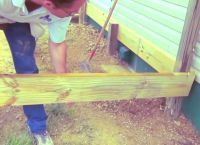 Крыльцо из дерева своими руками13