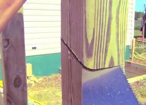 Крыльцо из дерева своими руками42