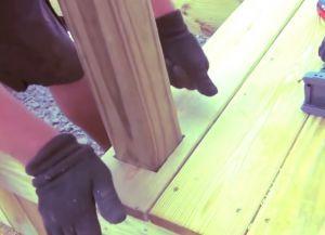 Крыльцо из дерева своими руками47