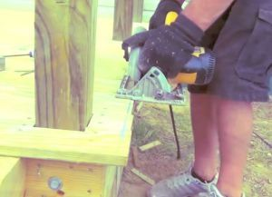 Крыльцо из дерева своими руками49