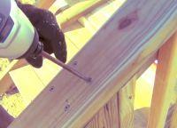 Крыльцо из дерева своими руками63