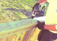 Крыльцо из дерева своими руками67