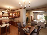 Кухня - студия в частном доме