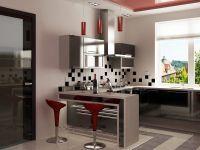 кухня студия хай тек2