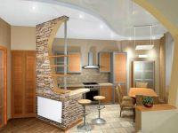 Кухня - студия в частном доме2