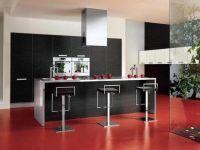 кухня студия с барной стойкой1