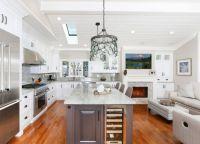 Кухня в частном доме10