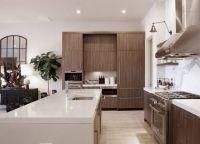 Кухня в частном доме11