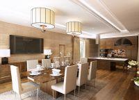 Кухня в частном доме6
