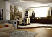 Кухня в частном доме7