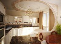 Кухня в частном доме8