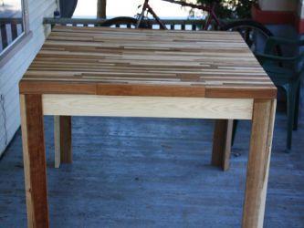 Кухонный стол своими руками12