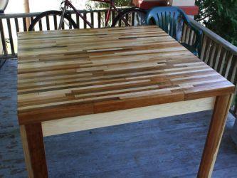 Кухонный стол своими руками13