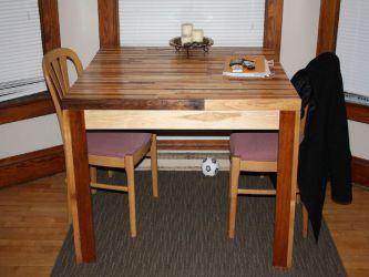 Кухонный стол своими руками15