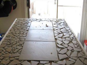 Кухонный стол своими руками24