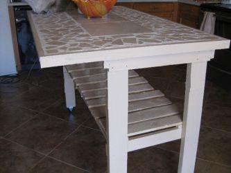 Кухонный стол своими руками27