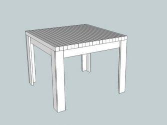 Кухонный стол своими руками2