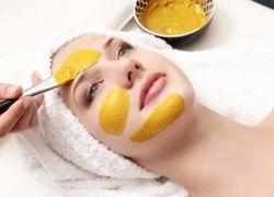 куркума для отбеливания кожи лица