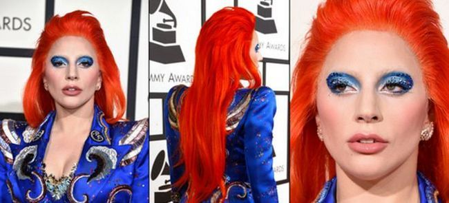 Леди Гага на Грэмми 2016