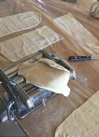 Певица решила сделать домашнюю пасту и заготовки для лазаньи