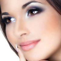 легкий вечерний макияж для карих глаз 3