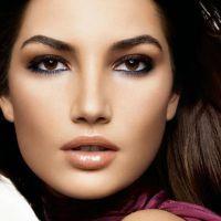 легкий вечерний макияж для карих глаз 4