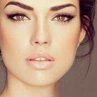 легкий дневной макияж для карих глаз 1