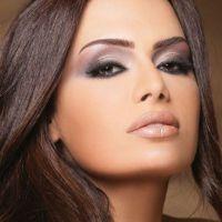 легкий вечерний макияж для карих глаз 1