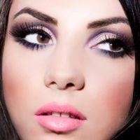 легкий вечерний макияж для карих глаз 2