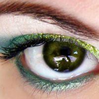 красивый легкий макияж для зеленых глаз 3